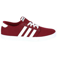 adidas Men's Skate VS Red Trainers Shoes Skate shoes Skater shoes Canvas NEW