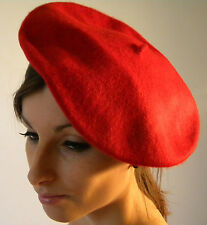 New Beret Red Ladies French Style Wool Great Quality
