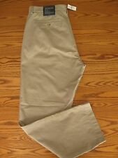 New Banana Republic Emerson Chino Vintage Straight Pants Beige Men's 38x32 $70