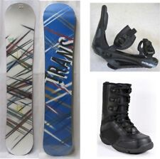 "NEW TRANS ""STYLE WHITE"" SNOWBOARD, BINDINGS, BOOTS PACKAGE - 146cm, 152cm"