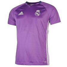Adidas Real Madrid Training Jersey Mens Purple Football Soccer Top Shirt