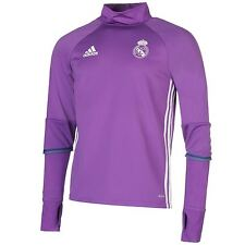 Adidas Real Madrid Training Top Mens Purple Football Soccer Shirt