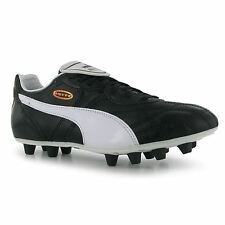 Puma Esito Classic FG Firm Ground Football Boots Mens Black/White Soccer Cleats