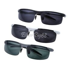 Polarized Mens Sunglasses Outdoor Sports Pilot Eyewear Driving Cycling Glasses
