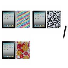 For Apple iPad 2 Design Snap-On Hard Case Phone Cover Stylus Pen
