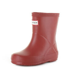 Hunter Boys Girls First Classic Military Red Wellies Wellington Boots Sz Size