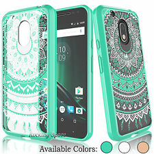 Hybrid Shockproof TPU Bumper Clear Back Case Cover for Motorola Moto G4 Play