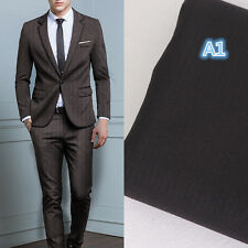 New Charcoal Tweed Mens Groom Wedding Suit Formal Tuxedos Business Suits Blazers