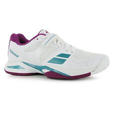 Babolat Propulse All Court Tennis Shoes Womens White Sports Trainers Sneakers