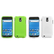 For Samsung Hercules T989 Rigid Plastic Hard Snap-On Case Phone Cover
