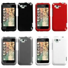 For HTC Rhyme / Bliss Rigid Plastic Hard Snap-On Case Phone Cover