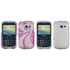 For Samsung Freeform 5 R480 Diamond Diamante Bling Rhinestone Case Cover