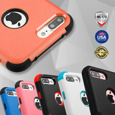 For Apple iPhone 7/6S/6 Plus - Hybrid TUFF IMPACT Case Hard Rugged Cover Stand