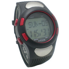 New Fitness Sport Watch Pulse Heart Rate Monitor With Pedometer Calories Counter