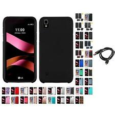 For LG Tribute HD LS676 X Style  IMPACT Hard TUFF  Case Cover + Cable