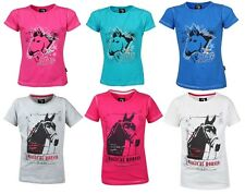 Horka T-Shirts Junior Childs Horse Riding T-Shirt ALL SIZES & COLOURS