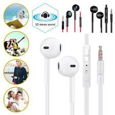 3.5mm Stereo Earphone Noise-Isolating Earbuds Headphones Mic for iPhone iPod PC
