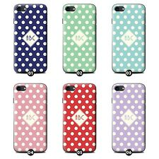 Personalized Custom Polka Dot Phone Case/Cover for HTC Desire Smartphone Initial