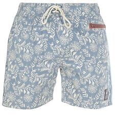 Cross Hatch Mens Gents Plantain Swim Shorts Pants Seaside Poolside Beachwear