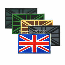 BRITISH FLAG UK GREAT BRITAIN UNION JACK COLOR 3D MILITARY BADGE PATCH