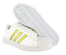 Adidas Superstar Ii Mens Shoes White/gold Size