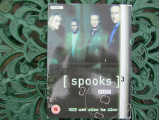 Spooks - Series 3 - Complete (DVD, 2005, 5-Disc Set, Box Set)