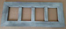 SALE! Rustic Pine 4 Picture Collage Photo Frame (4x6 or 5x7, Six color options!)