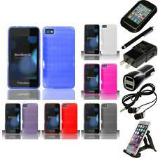 For BlackBerry Z10 TPU Rubber Flexible Case Skin Phone Cover Accessories