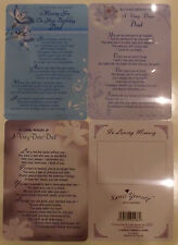 Dad Memorial Graveside Cards. Father's Day  Missing You On Your Birthday
