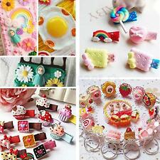 50x Assorted Resin Flatback Embellishment for DIY Hair Accessories Decor Crafts