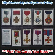 ☆ Player's - War Decorations & Medals 1927 (G) ***Pick The Cards You Need***