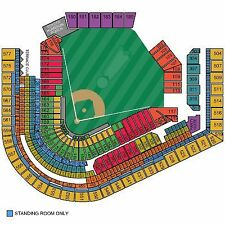 2 tickets Indians vs Mariners Sunday 4/30 Section 456 Row A - Front row!