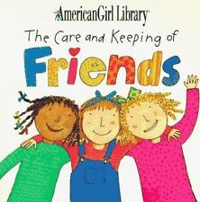 American Girl Paperback The Care and Keeping of Friends  Pleasant Company Staff