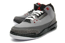 Nike Air Jordan 3 Retro GS [398614-003] Basketball III Stealth/Cement Grey