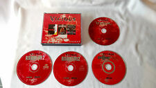 PC CD ROM Games Resident Evil 2, Carmageddon 2 and Unreal - Vicious Collection.