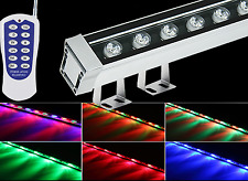 12W LED Wall Washer Linear Light RGB Warm White Red Green Blue Purple Yello IP65