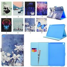 Magnetic Smart PU Leather Pattern Case Stand Cover For Apple iPad 2 3 4 mini Air
