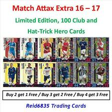 Match Attax Extra 16 - 17: Limited Editions, Hundred / 100 Club & Hat-Trick Hero