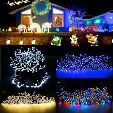 200 LED 22M Solar Powered Fairy String Lights Waterproof Garden Halloween Xmas
