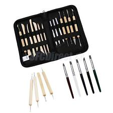 Pottery Clay Sculpture Modeling Carving Tools Set Art Craft Artists Supplies