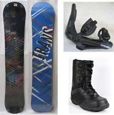 "NEW TRANS ""STYLE BLACK"" SNOWBOARD, BINDINGS, BOOTS PACKAGE - 141cm, 146cm, 152cm"