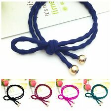 Women Bow Knot Elastic Hair Band Hair Rope Ponytail Holder Hair Girl Accessories