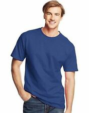 5 - Hanes Mens Beefy-T TALL T-Shirts ASSORTED COLORS Sizes LT - 4XLT LotA