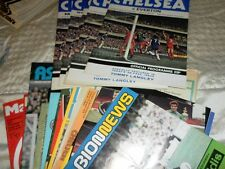 CHELSEA HOME AND AWAY PROGRAMMES FROM 1978/9 SEASON - SELECT FROM LIST