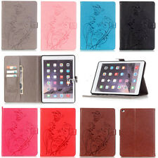 For Apple ipad/Sumsung Series Tablet Flip Leather Embossed Protection Case Cover