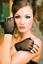 Admcity Fishnet Wrist Length Warmers / Fingerless Gloves.