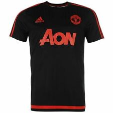 adidas Manchester United Football Club Training Top SS Jersey Mens Gents