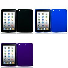 For Apple iPad Mini Silicone Case Gel Rubber Slim Grippy Skin Cover