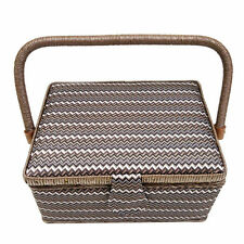 D&D Sewing Basket With Handle Sewing Tool Box Household Storage Basket Crafts