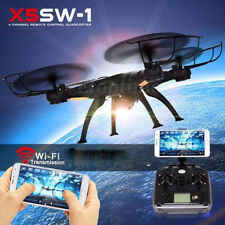 New X5SW-1 Wifi FPV 2MP HD Camera Drone 2.4Ghz 4CH RC RTF Quadcopter Helicopter